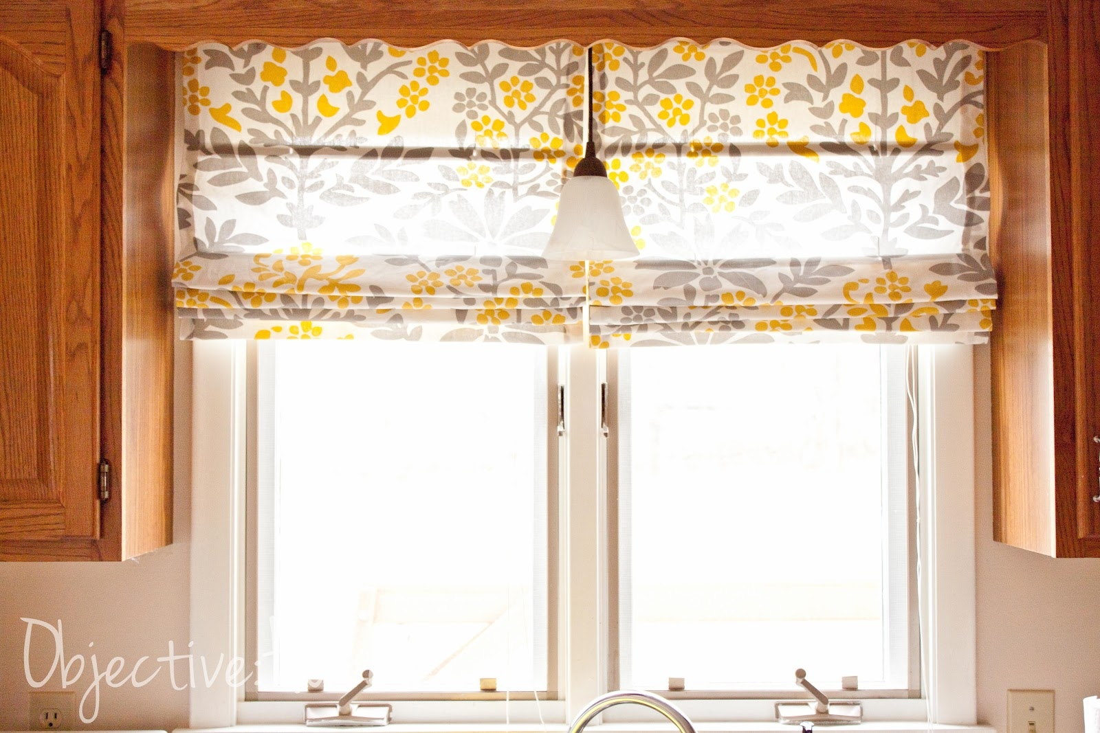 Objectivehome Easy No Sew Roman Shades For 450 With Regard To Pre Made Roller Blinds (Image 11 of 15)