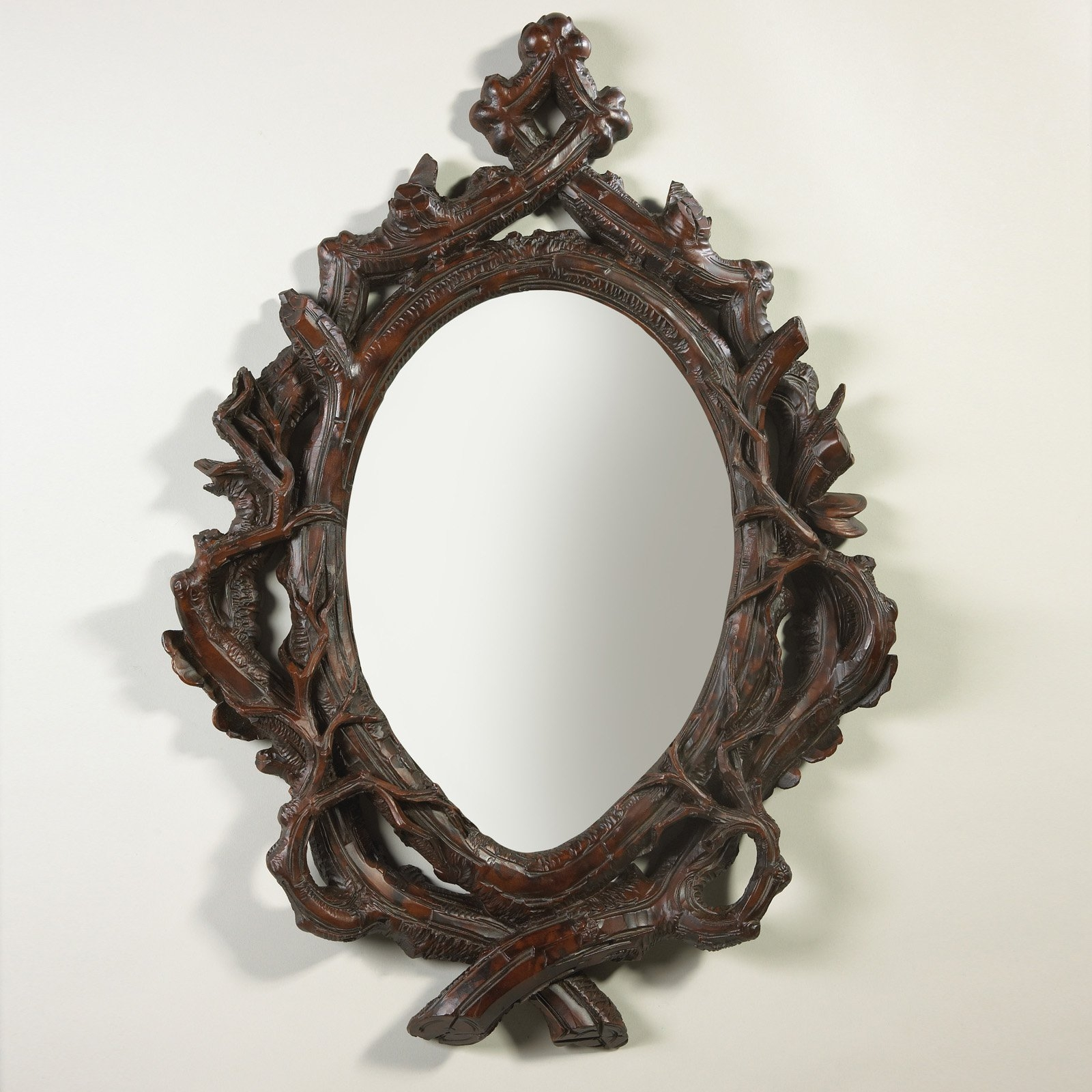 Oklahoma Casting Twig Oval Bevel Wall Mirror Mirrors At Hayneedle With Unusual Mirrors (Image 10 of 15)