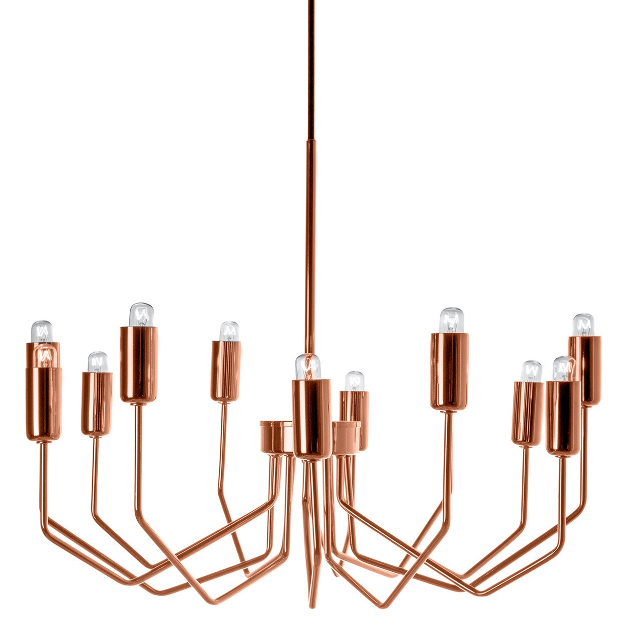 Olbia Copper Chandelier Copper Great Deals And Shopping Throughout Copper Chandelier (Image 11 of 15)