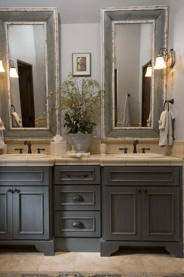 Old World French Bathroom Mirrors Home With Regard To Old French Mirrors (Image 13 of 15)
