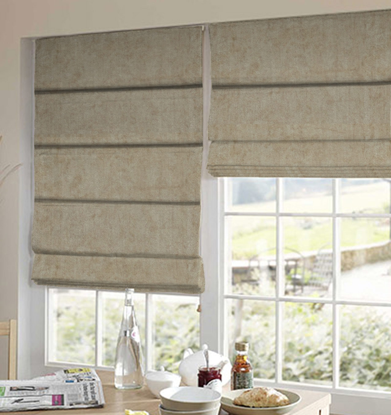 Online Blinds Indiaready Made Blinds Onlineindia Within Velvet Blinds (Photo 14 of 15)