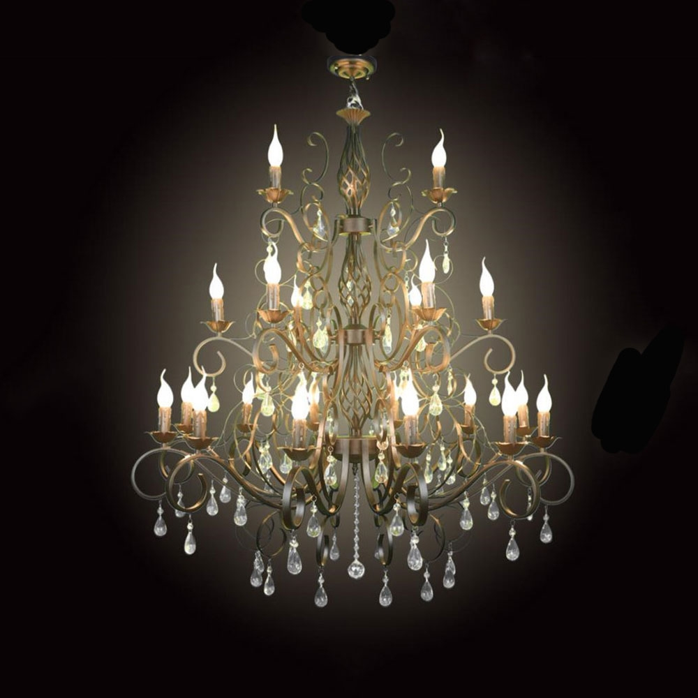 Online Buy Wholesale Big Crystal Chandelier From China Big Crystal Inside Big Crystal Chandelier (Image 12 of 15)