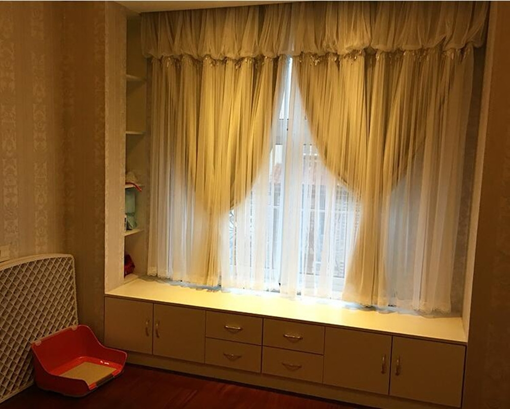 Online Buy Wholesale Curtains Bay Window From China Curtains Bay With Blackout Curtains Bay Window (Image 13 of 15)