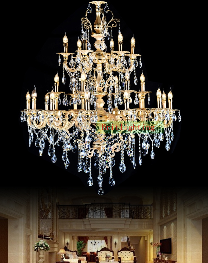 Online Buy Wholesale French Gold Chandelier From China French Gold Within French Gold Chandelier (Image 9 of 14)