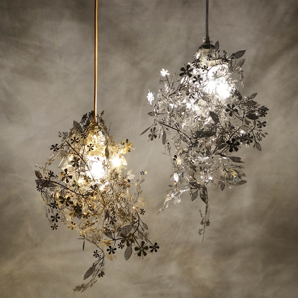 Online Buy Wholesale Gold Leaf Chandelier From China Gold Leaf Intended For Gold Modern Chandelier (Image 13 of 15)