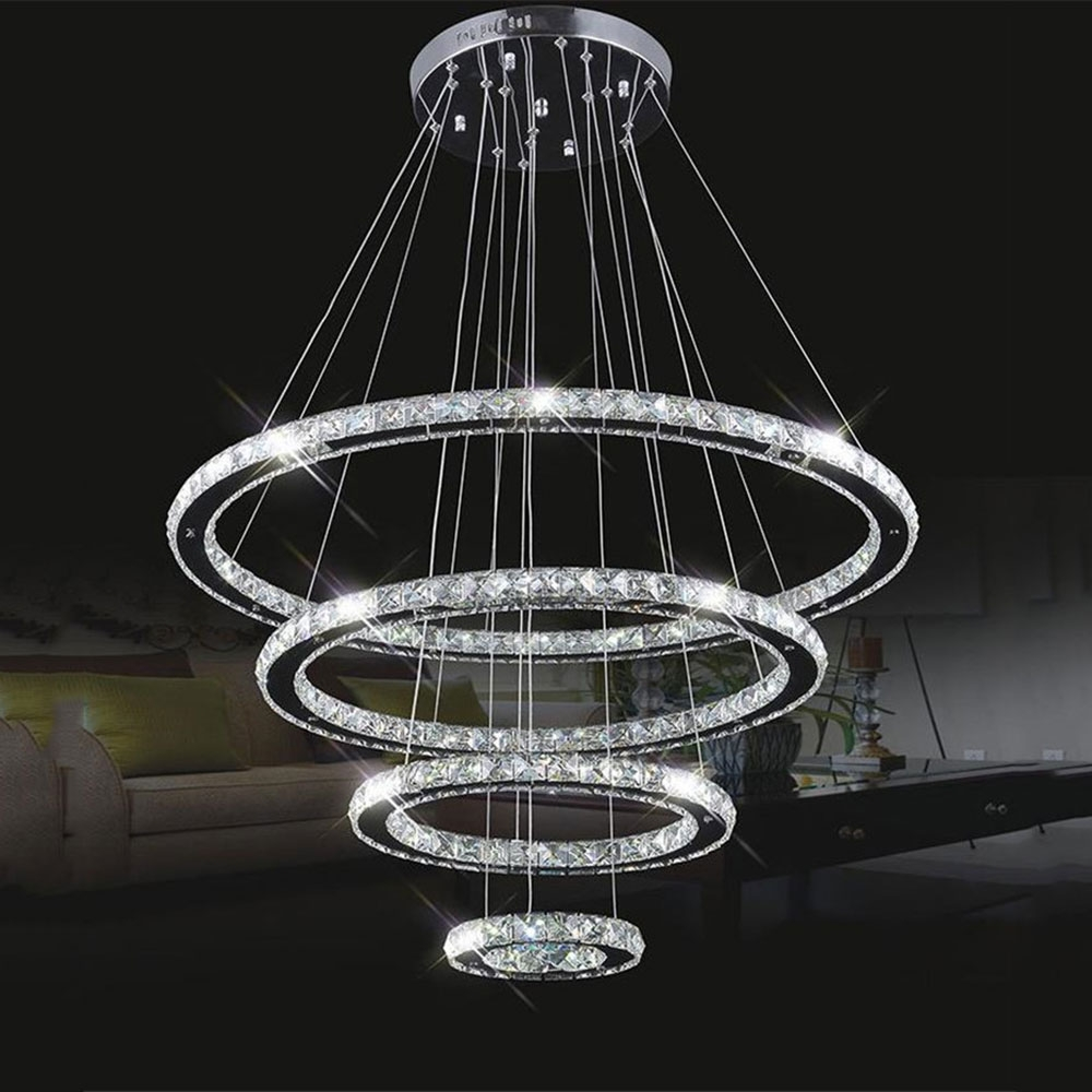 Online Buy Wholesale Modern Led Chandelier From China Modern Led Regarding Modern Led Chandelier (View 10 of 15)