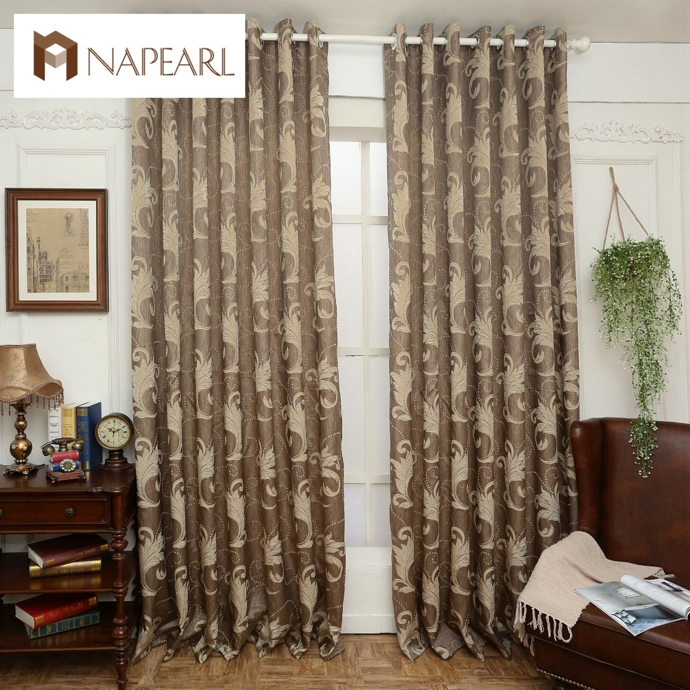 Online Get Cheap Brown Blinds Aliexpress Alibaba Group Pertaining To Luxury Blinds And Curtains (Image 12 of 15)