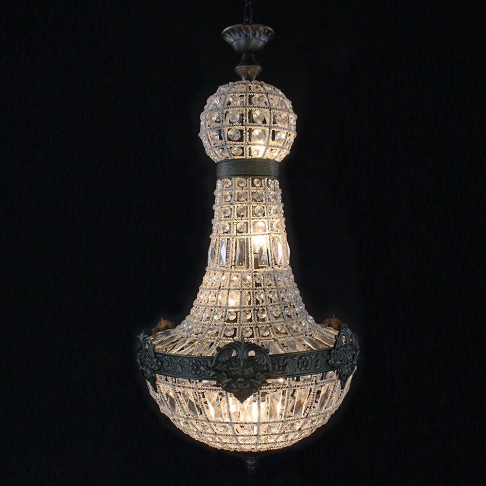 Online Get Cheap Chandeliers French Aliexpress Alibaba Group Within Cheap Big Chandeliers (Image 13 of 15)