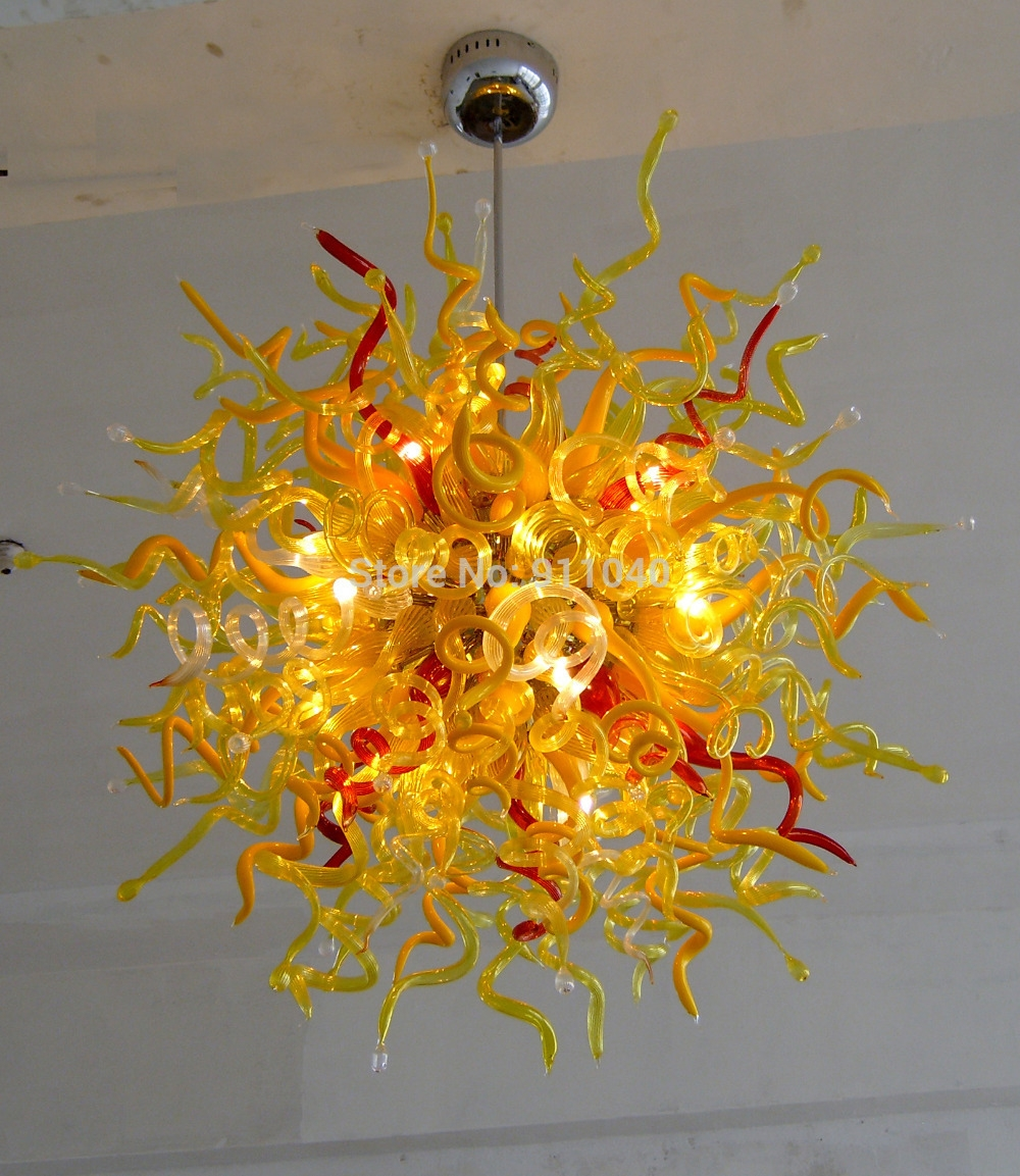 Featured Image of Coloured Glass Chandelier