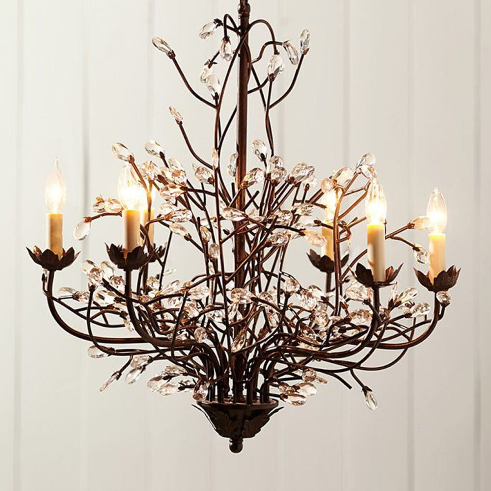 15 Collection Of Country Chic Chandelier Chandelier Ideas