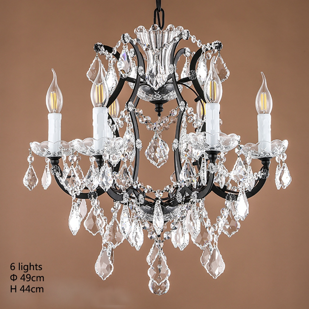 Online Get Cheap French Style Chandelier Aliexpress Alibaba Throughout Vintage Style Chandelier (Image 10 of 15)