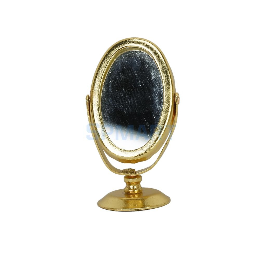 Online Get Cheap Miniature Mirror Aliexpress Alibaba Group Pertaining To Gold Table Mirror (Image 11 of 15)
