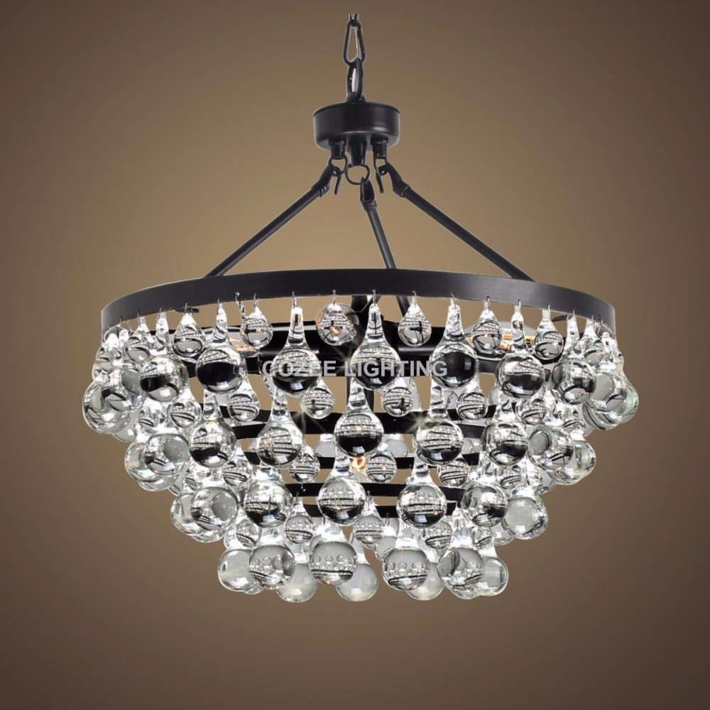 Online Get Cheap Modern Round Chandelier Aliexpress Alibaba Regarding Modern Glass Chandeliers (Image 14 of 15)