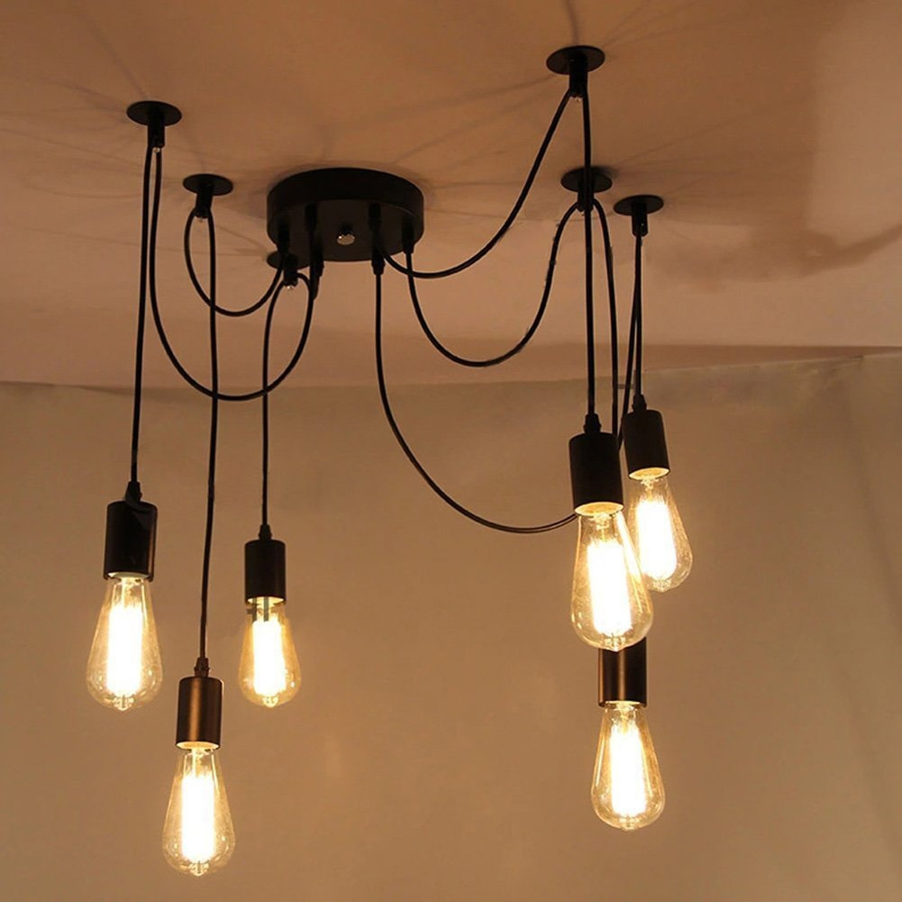Online Get Cheap Retro Chandelier Lighting Aliexpress Within Retro Chandeliers (Image 11 of 15)