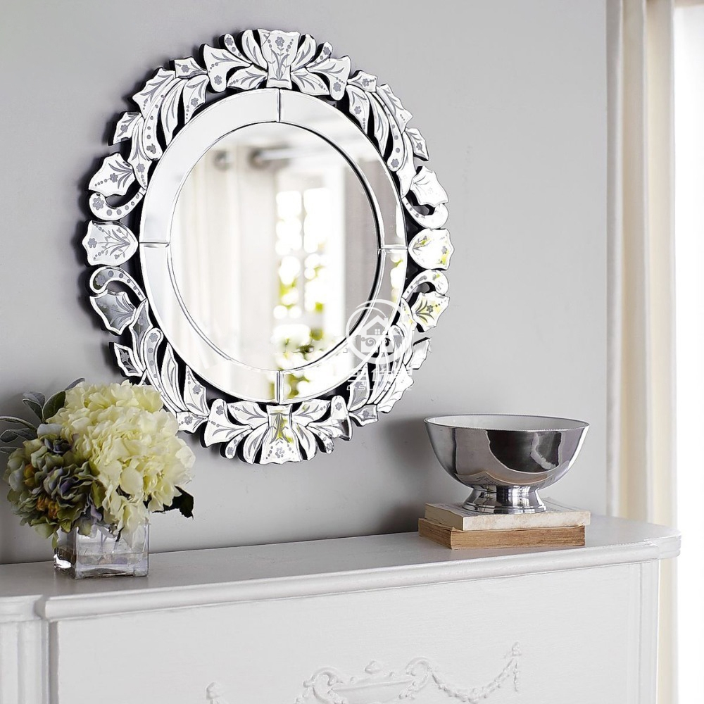 Online Get Cheap Round Venetian Mirror Aliexpress Alibaba Group Regarding Cheap Venetian Mirror (Image 9 of 15)