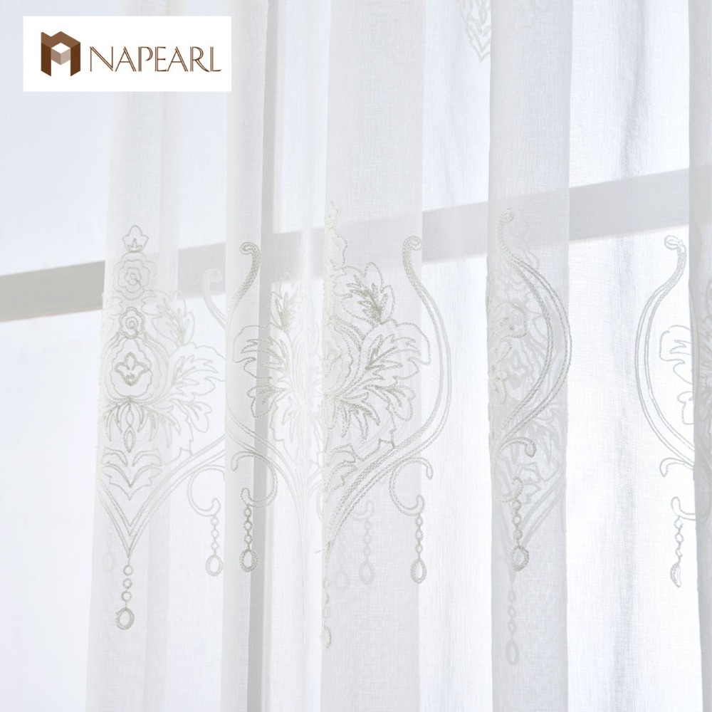 Online Get Cheap Sheer Linen Aliexpress Alibaba Group For Linen Luxury Curtains (Image 10 of 15)