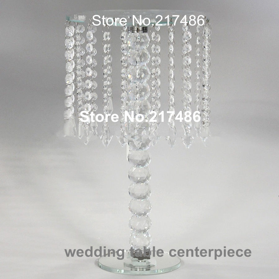 Online Get Cheap Table Chandeliers Centerpieces Aliexpress Within Crystal Table Chandeliers (Image 11 of 15)