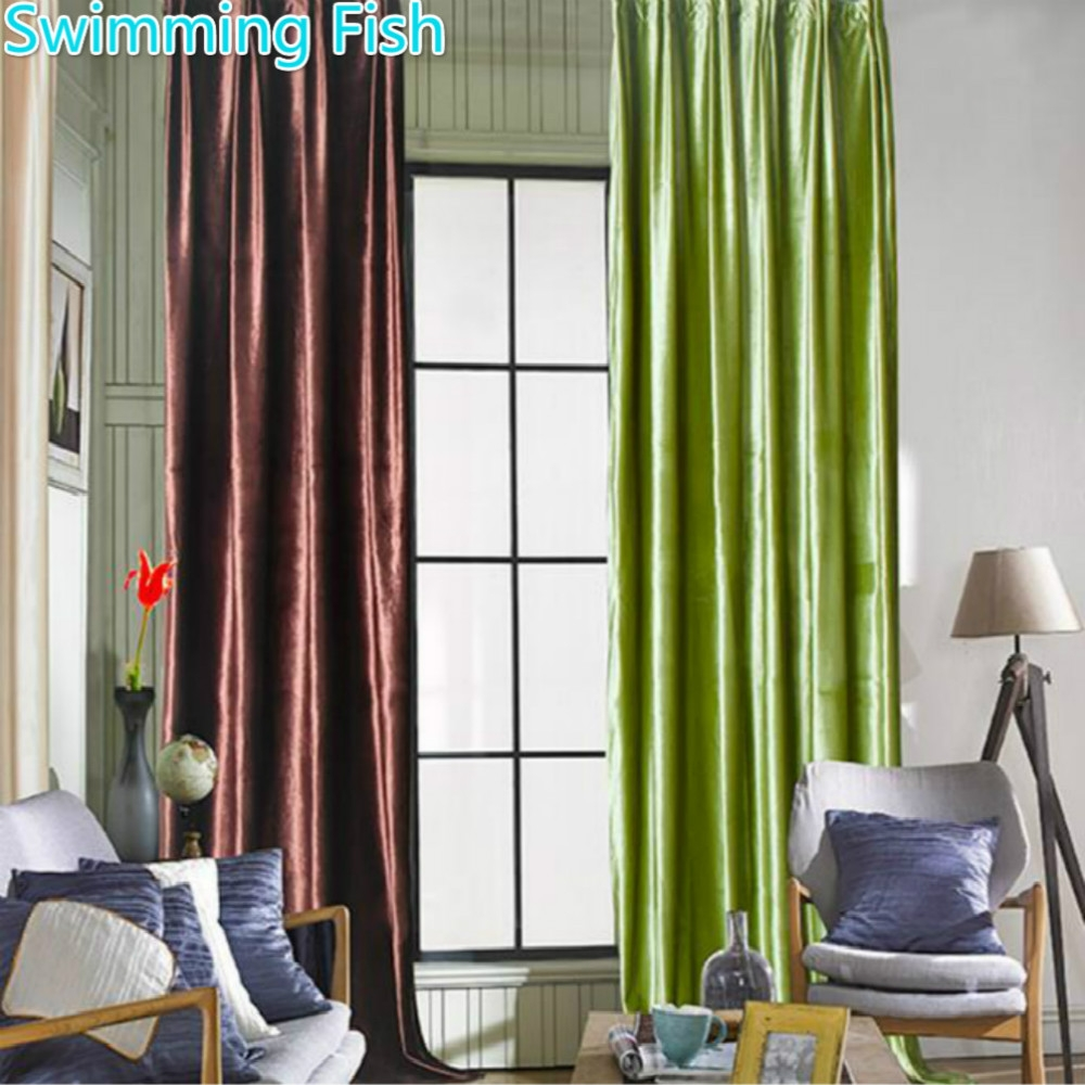 Online Get Cheap Thick Curtains Aliexpress Alibaba Group Within Thick Bedroom Curtains (View 10 of 15)