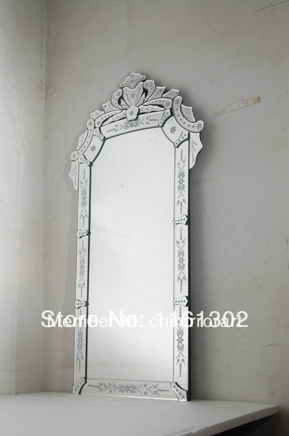 Online Get Cheap Venetian Floor Mirror Aliexpress Alibaba Group Intended For Cheap Venetian Mirror (Image 11 of 15)