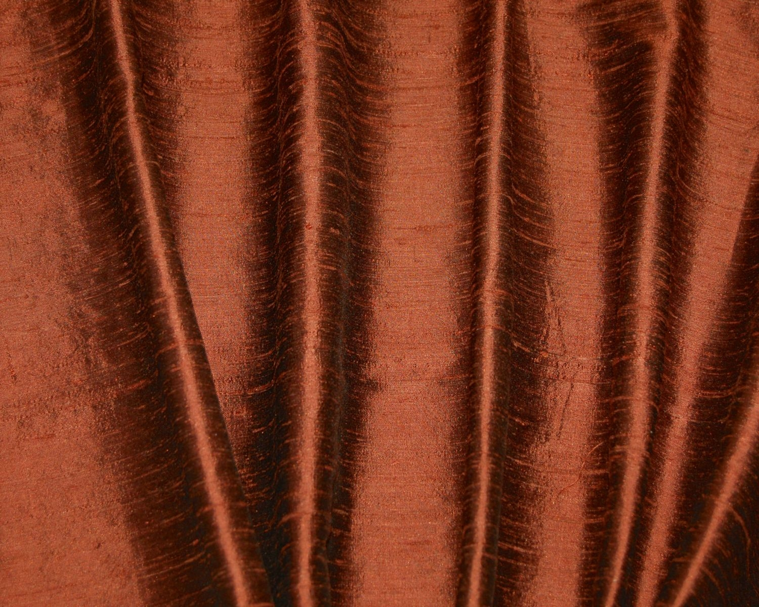 Orange Dupioni Silk Drapes Curtains Shades Custom Made In The Usa Pertaining To Orange Silk Curtains (Image 10 of 15)