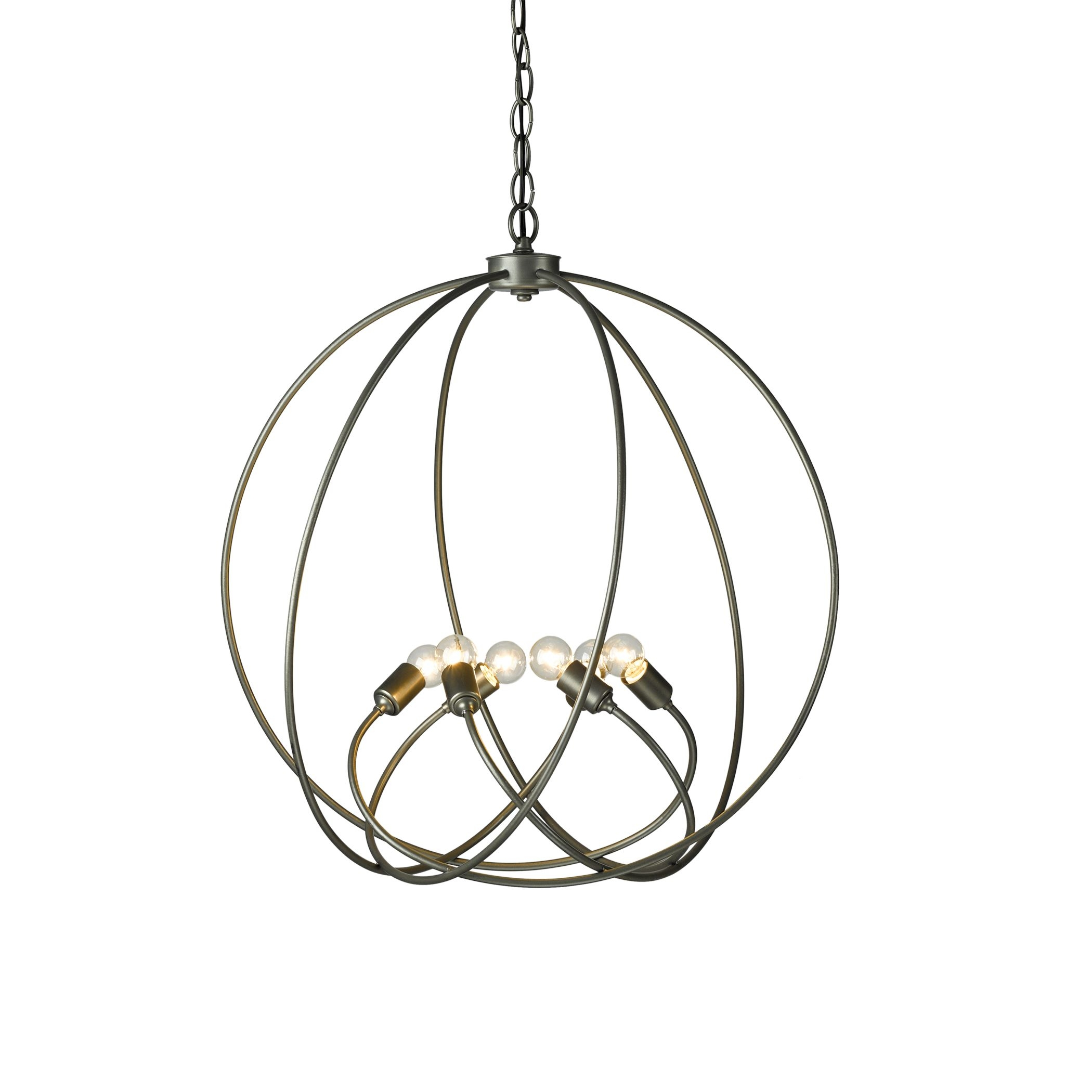 Orb Chandelier Hubbardton Forge Pertaining To Orb Chandelier (Image 14 of 15)