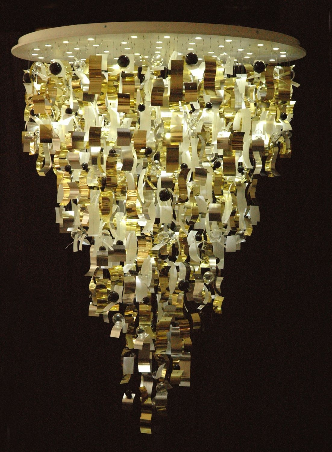 Original Design Chandelier Glass Brass Led Gl S144 In Brass And Glass Chandelier (Image 13 of 15)