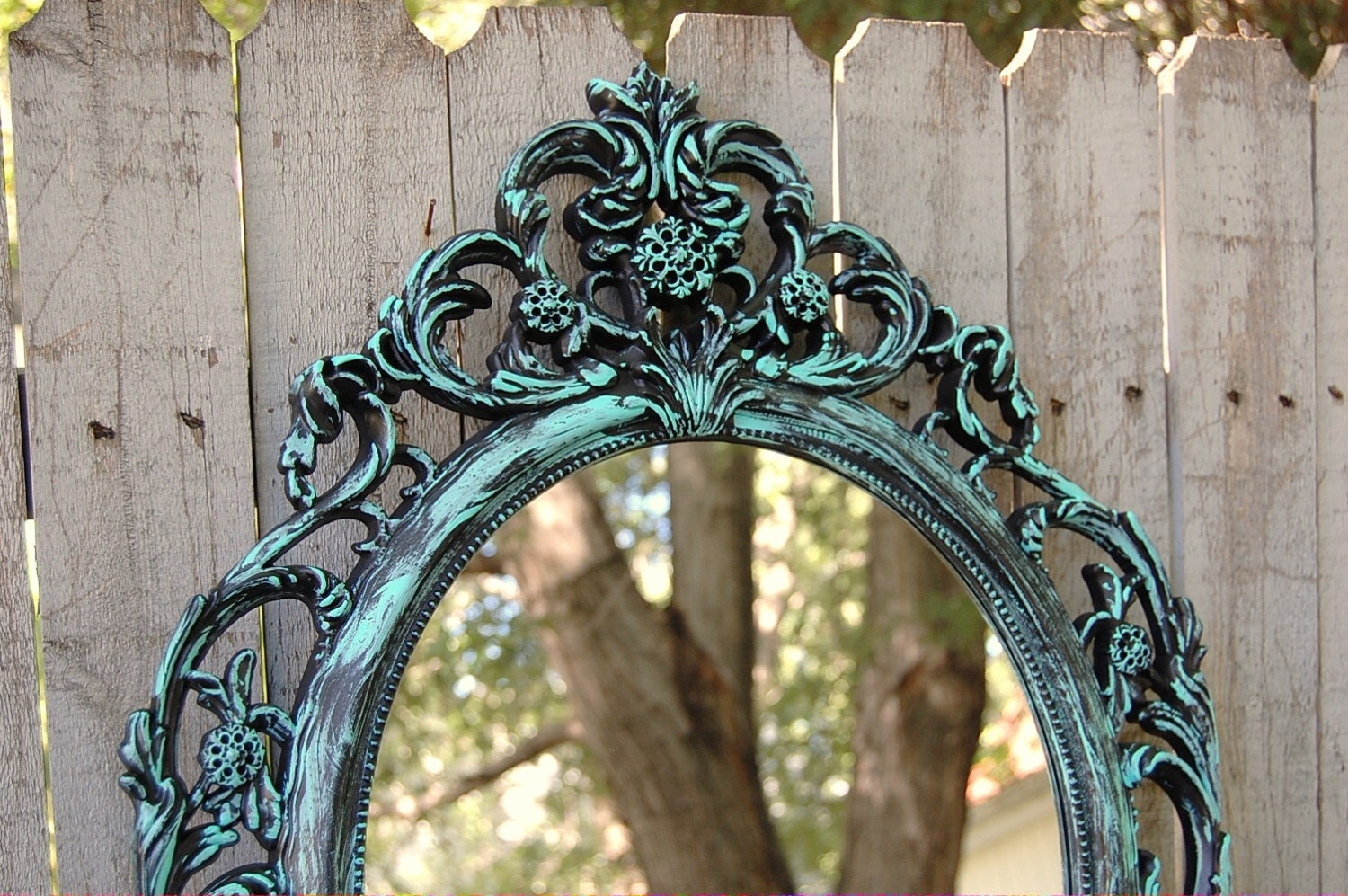 Ornate Mirror Etsy With Regard To Tall Ornate Mirror (Image 11 of 15)