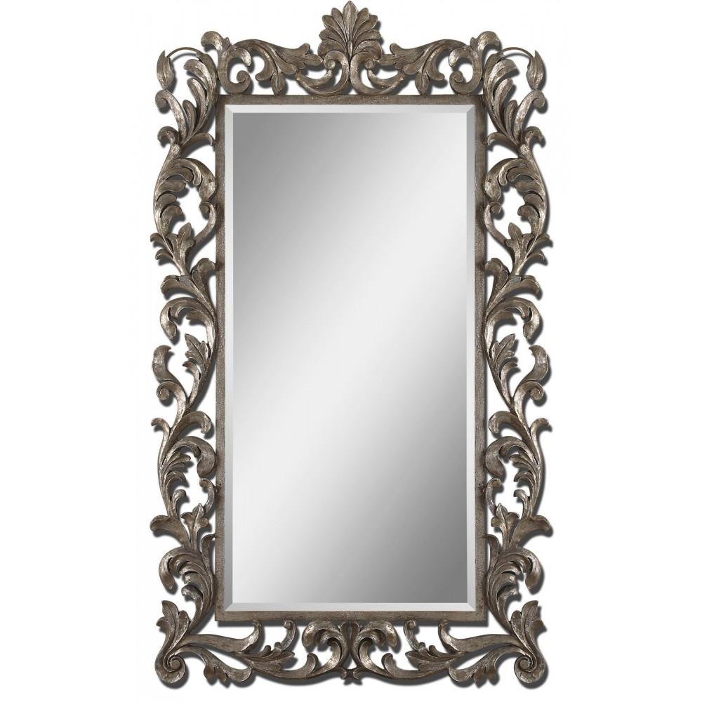 Ornate Mirrors Molise Rectangle Mirror Ornate Mirror Foral With Ornate Mirrors Cheap (Photo 14 of 15)