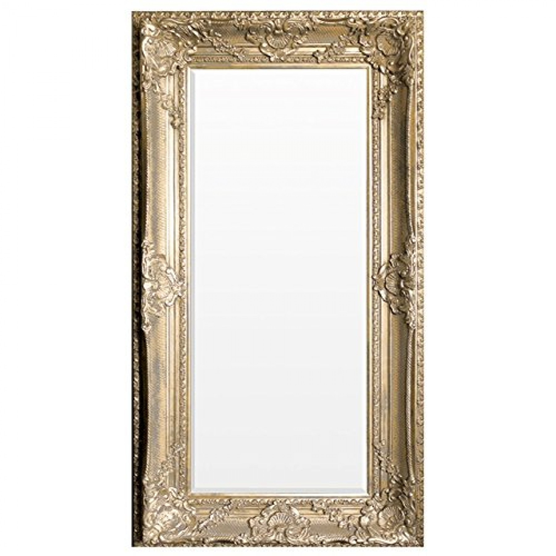 Ornate Shab Chic Mirror Extra Large Within Shabby Chic Gold Mirror (Image 11 of 15)