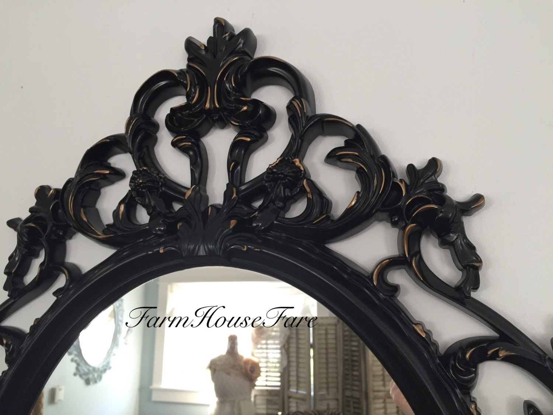 Ornate Vanity Mirror Globorank Inside Large Black Ornate Mirror (Image 14 of 15)