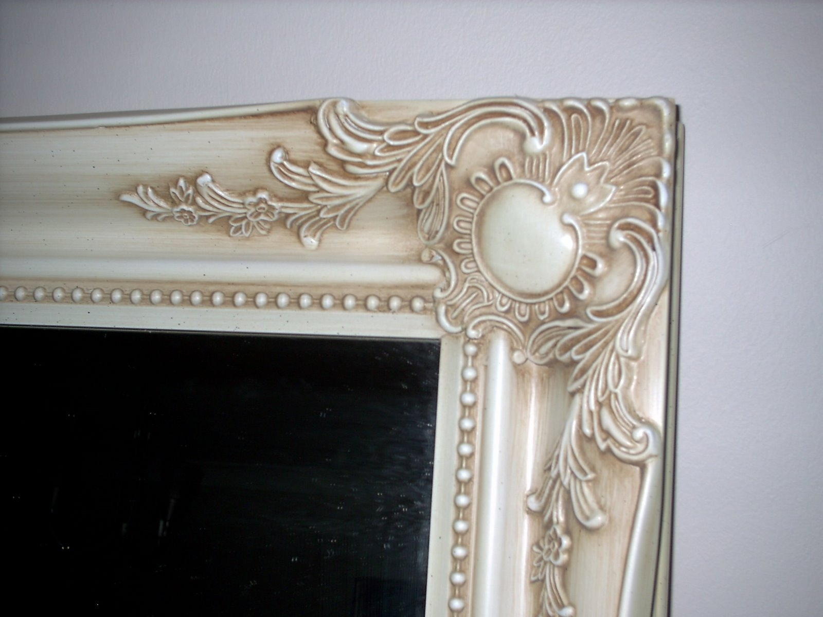Ornate Wall Mirror With Regard To Ivory Ornate Mirror (Image 14 of 15)