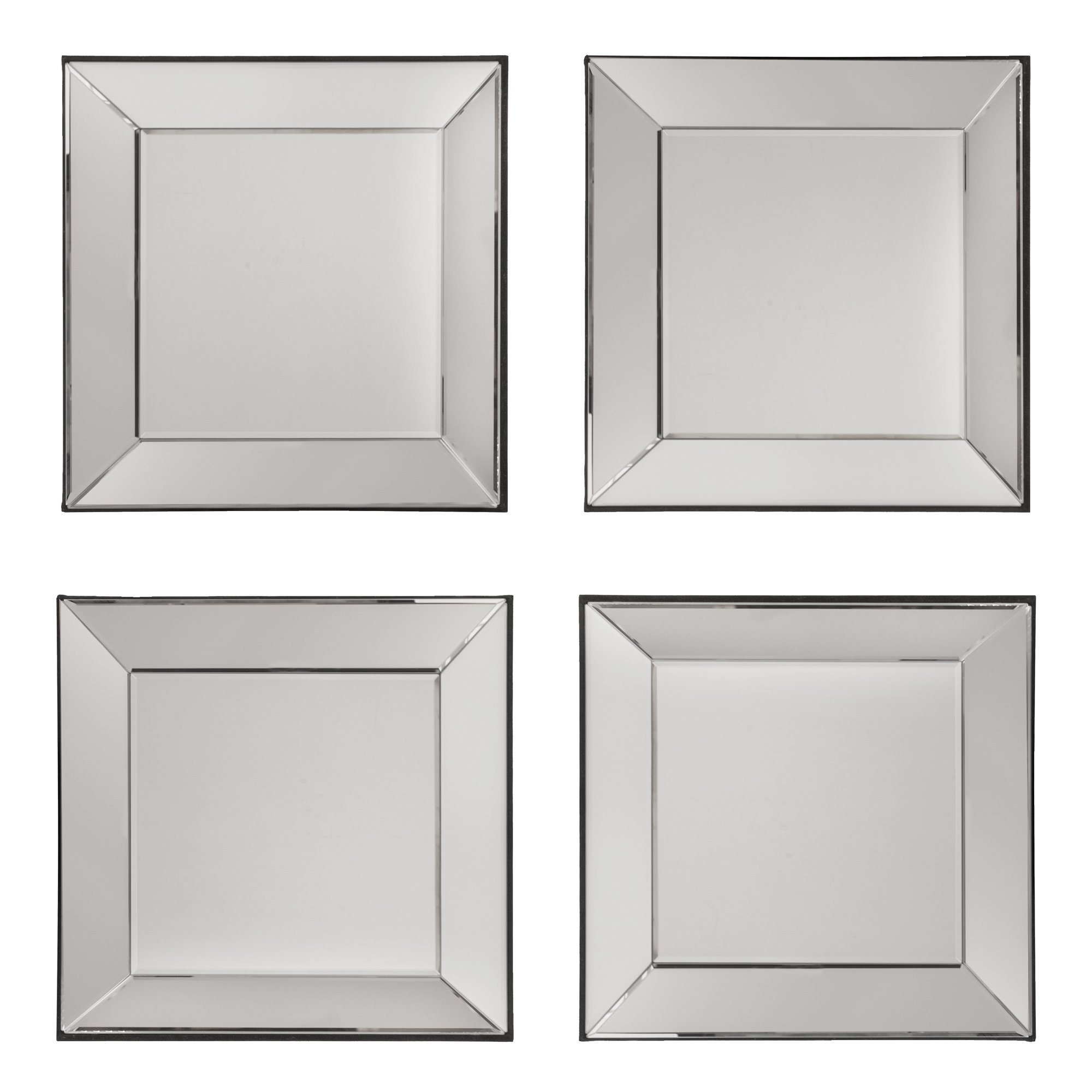 Osp Designs Decorative Square Wall Mirror Reviews Wayfair For Square Wall Mirror (Image 13 of 15)