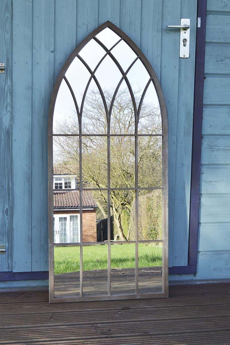 Outdoor Garden Mirrors Uk Zandalus Pertaining To Large Outdoor Garden Mirrors (Image 15 of 15)