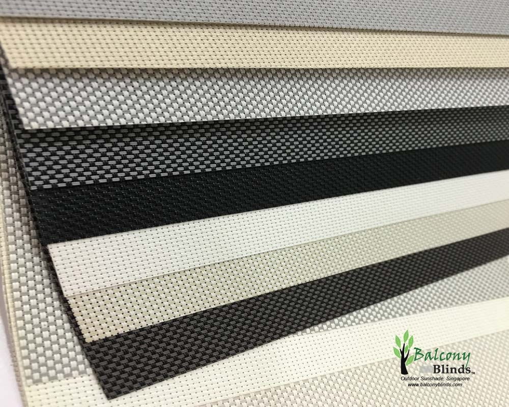 Outdoor Roller Blinds Singapore Balconyblinds Intended For Roller Fabric Blinds (Image 10 of 15)
