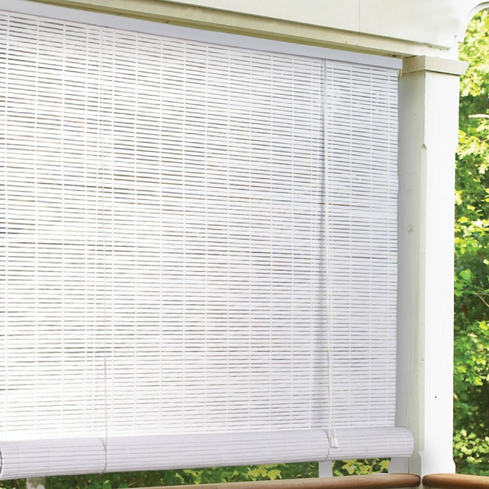 Outdoor Shade Cloth Roller Blinds Throughout Cloth Roller Blinds (Image 8 of 15)