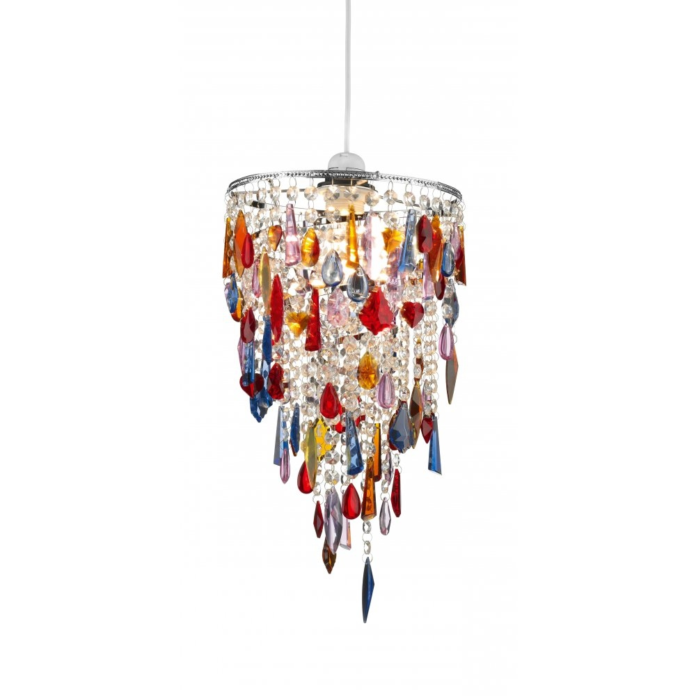 15 Best Ideas Coloured Glass Chandelier Chandelier Ideas
