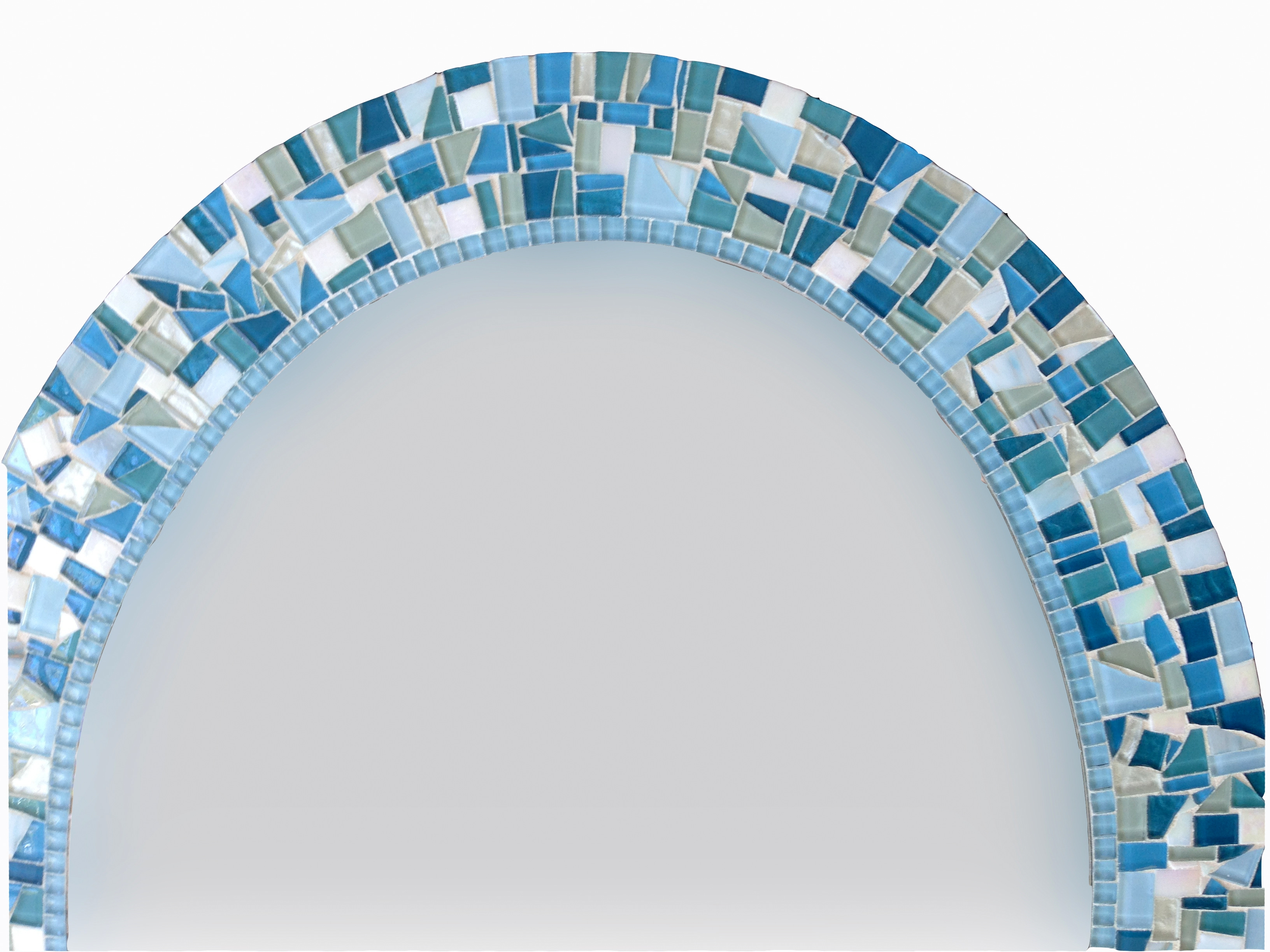 Oval Mosaic Wall Mirror Throughout Mosaic Wall Mirrors (Image 13 of 15)