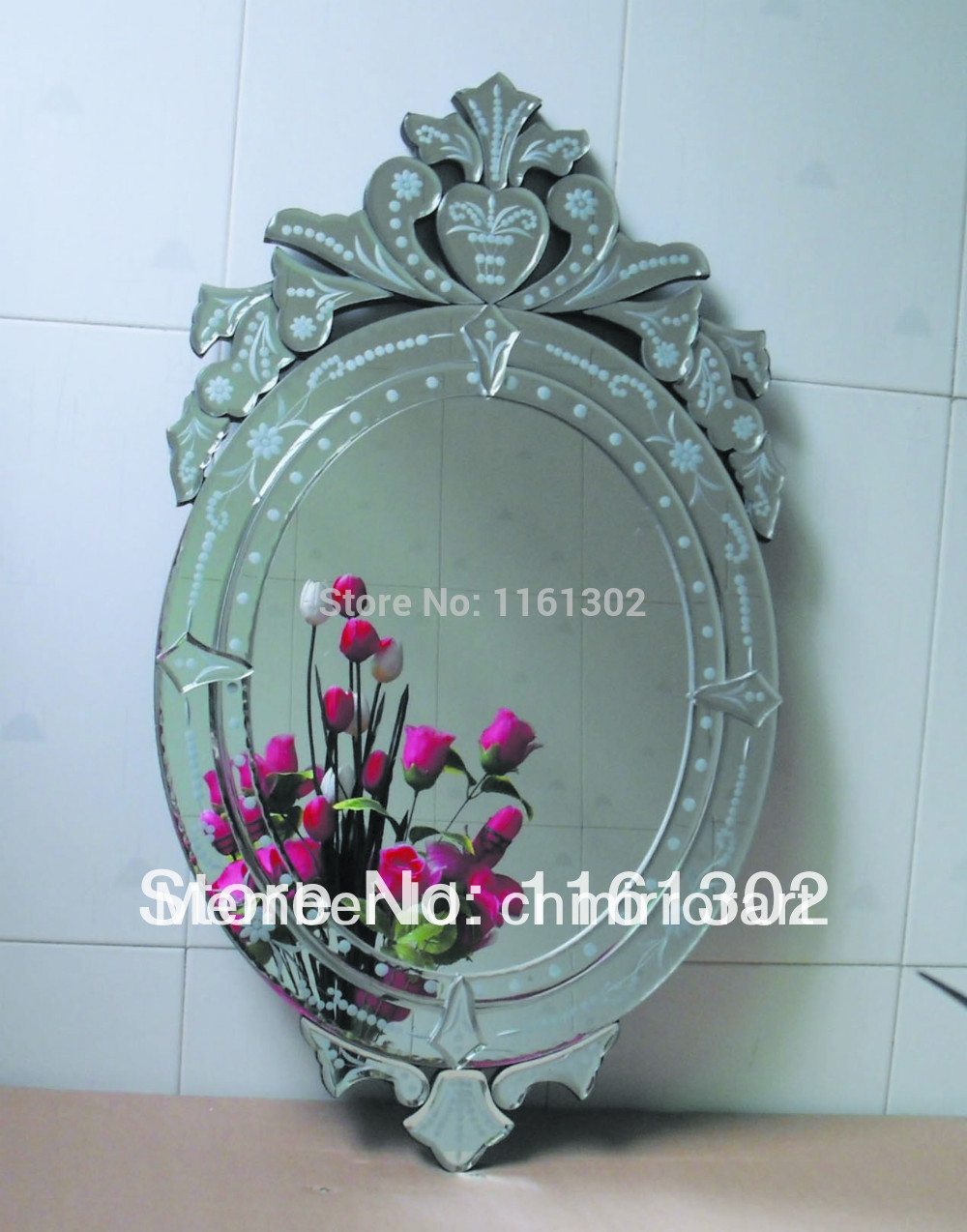 Oval Wall Mirror Promotion Shop For Promotional Oval Wall Mirror For Venetian Wall Mirror (Image 6 of 15)