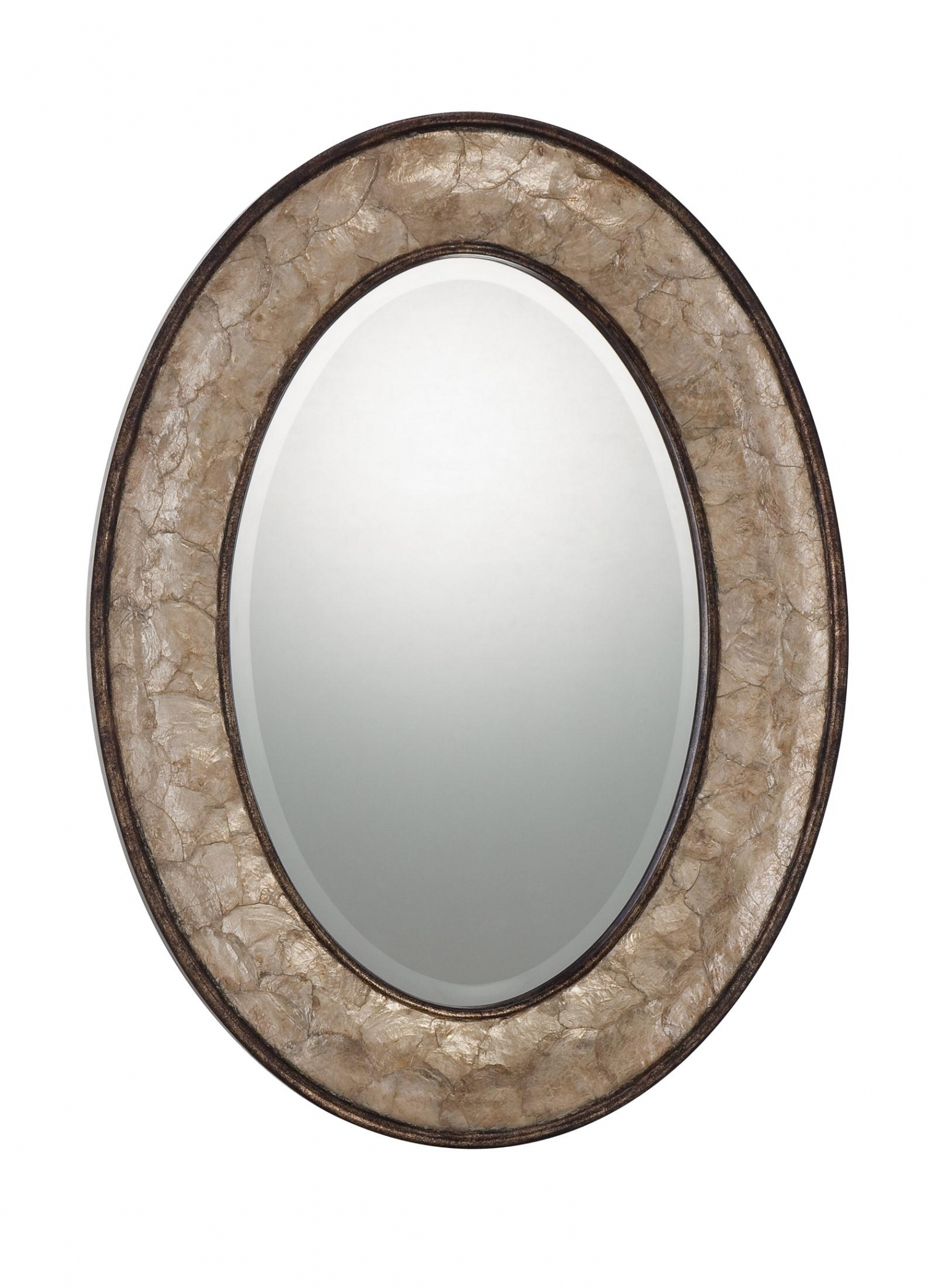 Oval Wall Mirrors 270 Kitchen Bathroom Frameless Vanity Throughout Oval Mirrors For Walls (Image 11 of 15)