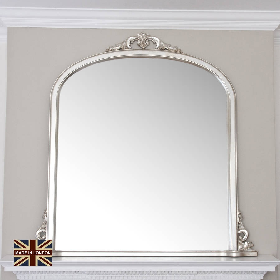 Overmantle Mirror Inovodecor Regarding Overmantel Mirrors (Image 11 of 15)