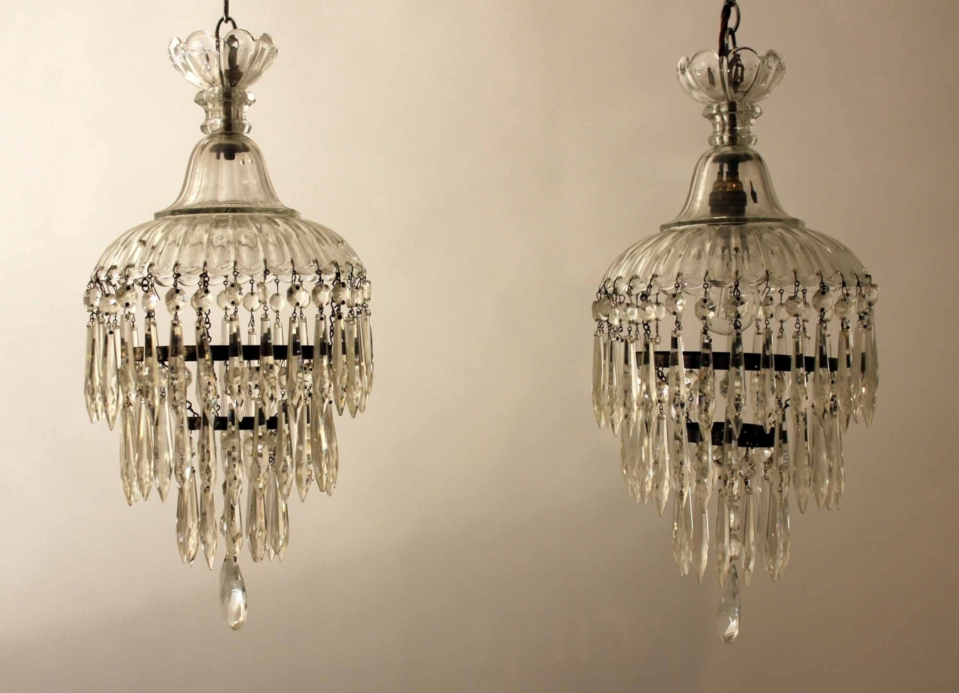 Pair Of Edwardian Chandeliers Trendfirst With Regard To Edwardian Chandeliers (Image 12 of 15)