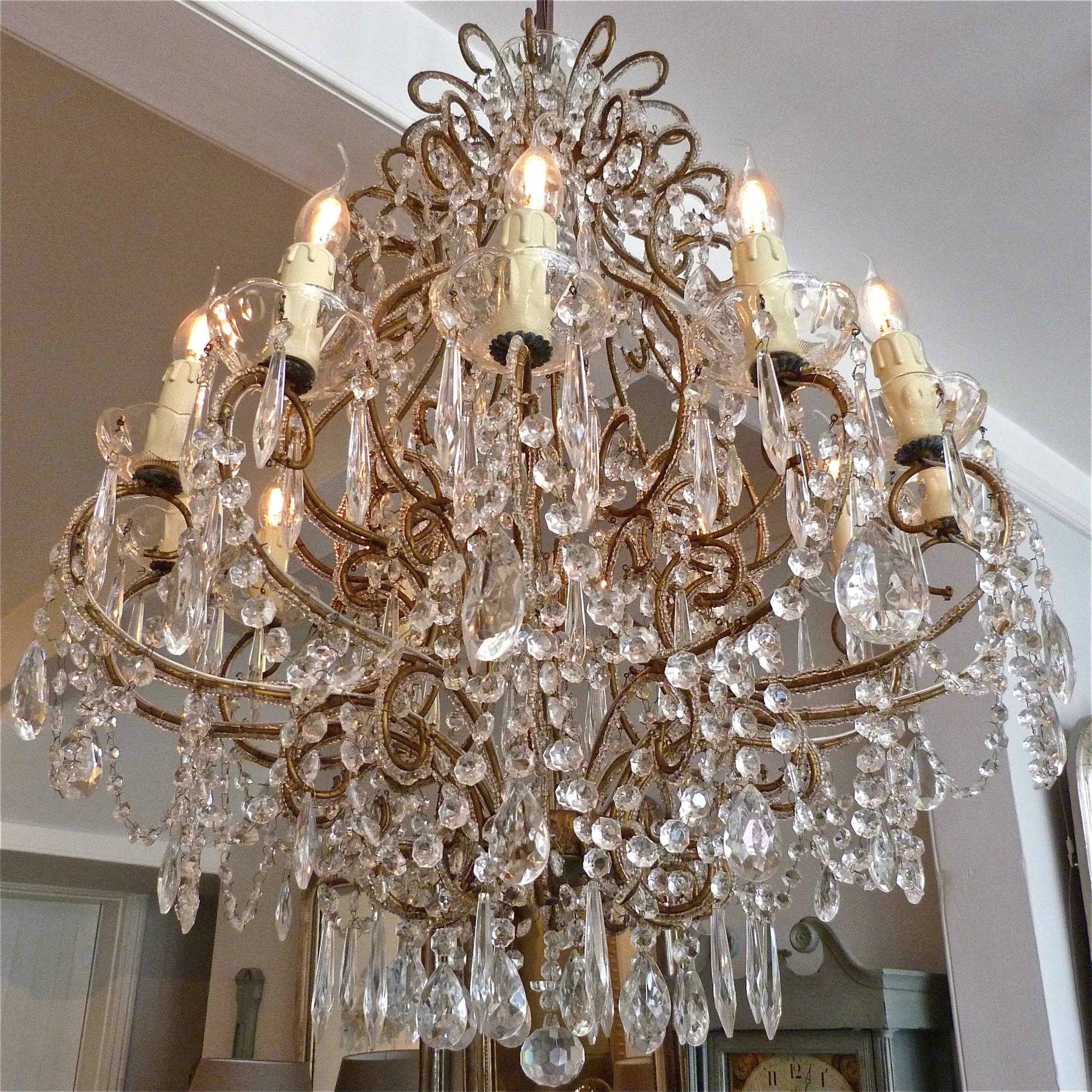 Pair Of Italian Chandeliers Trendfirst Pertaining To Italian Chandeliers (Image 12 of 15)