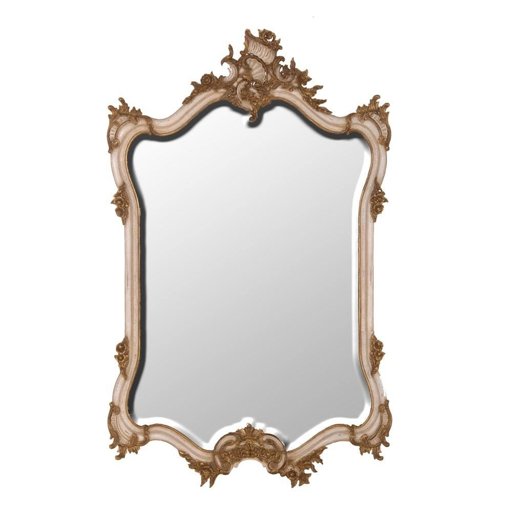 Palais Carved Ivory Gold French Mirror Mirror Within Gold French Mirror (Image 13 of 15)