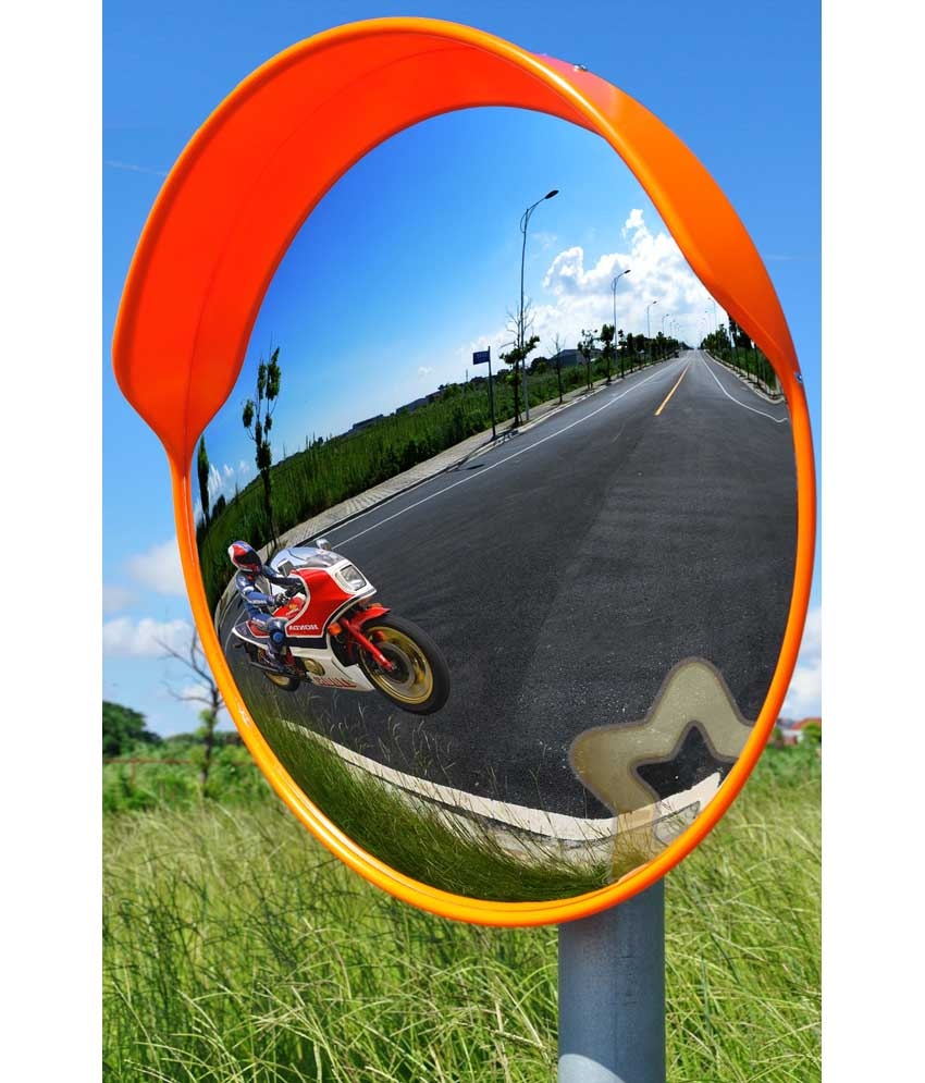 Parking Mirror Polycarbonate Convex Mirror 24 Inch With Regarding Buy Convex Mirror (Image 9 of 15)