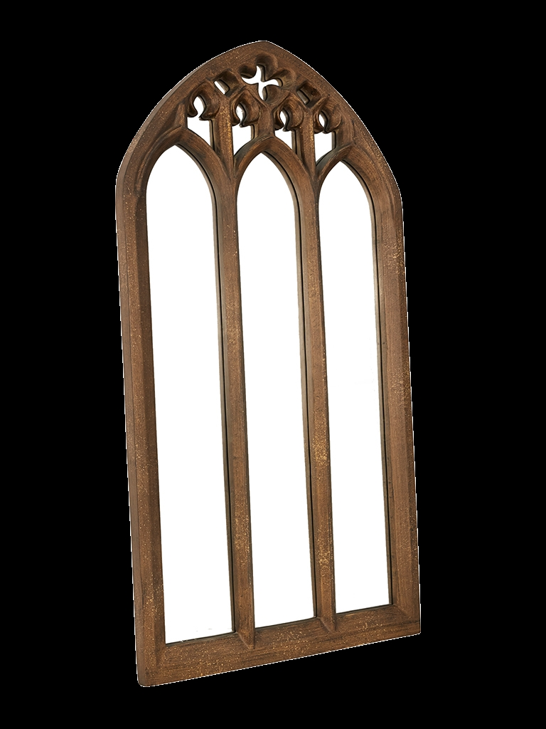 Parys Church Gothic Mirror Alliance Furniture Trading Pertaining To Gothic Style Mirrors (Image 11 of 15)