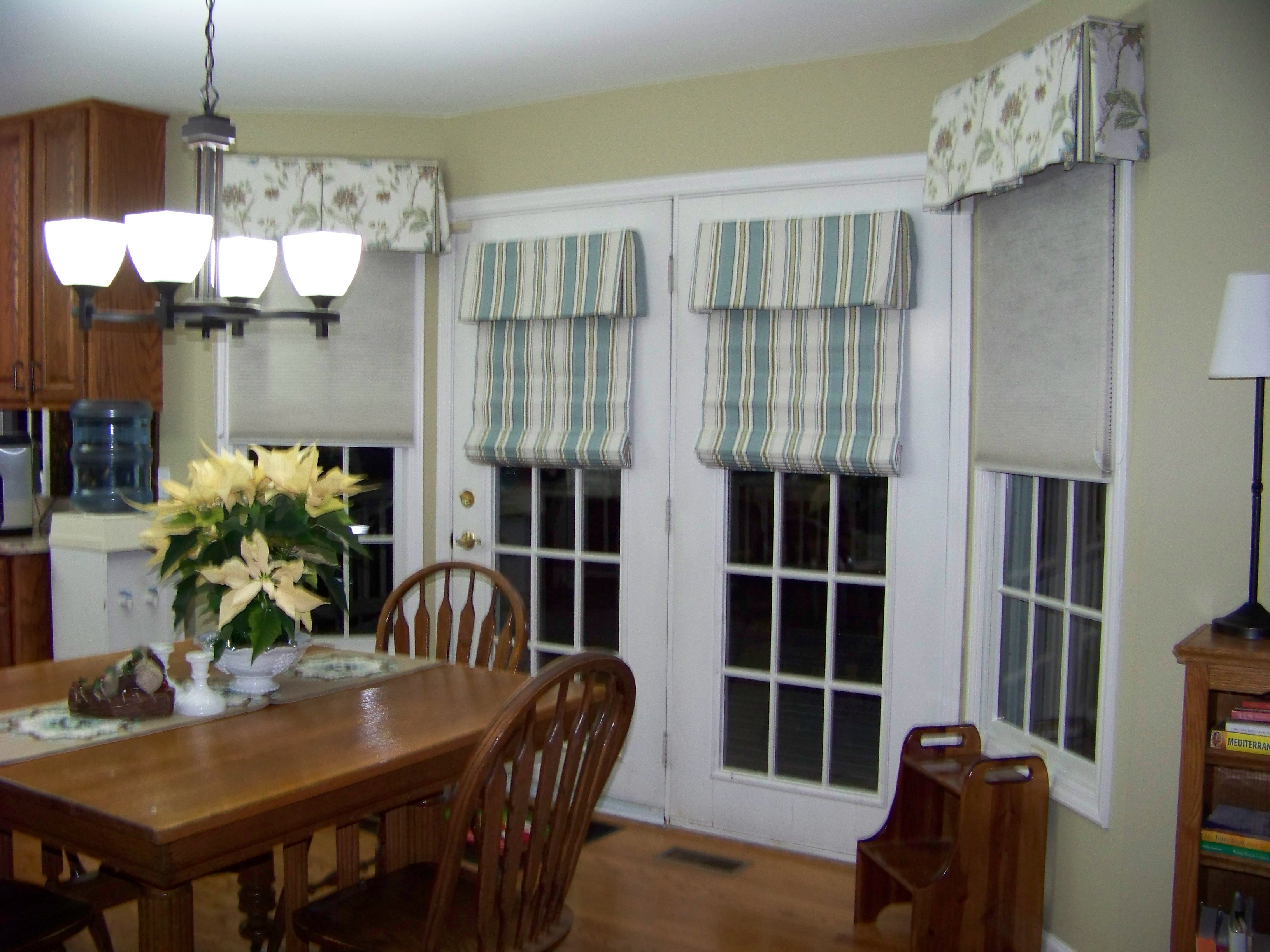 Patio Door Curtain Ideas Homesfeed With Regard To Striped Door Curtain (Image 14 of 15)