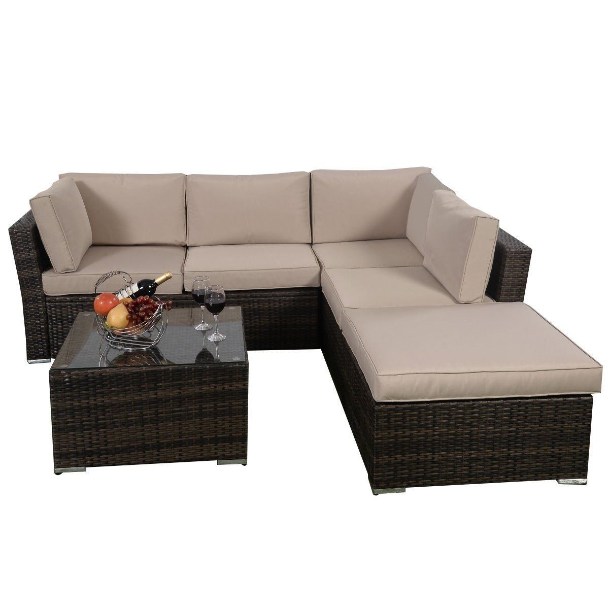 Patio Sofas Amazon With 10 Piece Sectional Sofa (View 6 of 15)