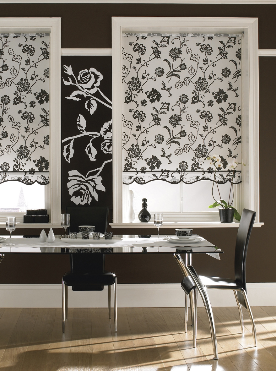 Pattern Roller Blinds Sunlover Accents Patterned Roller Blinds Regarding Pattern Roller Blinds (Image 10 of 15)