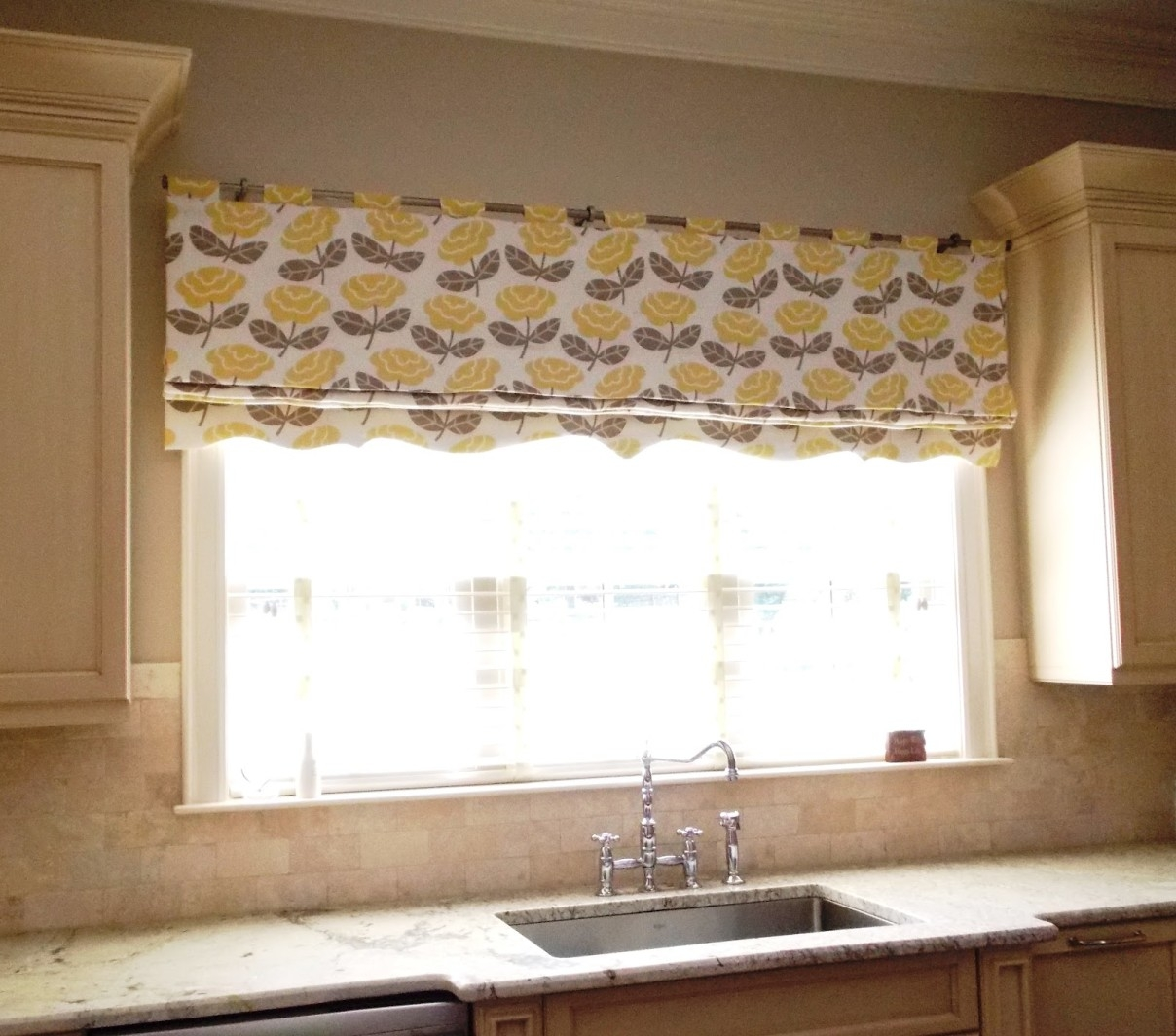 Patterned Blinds For Kitchen Pertaining To Pattern Blinds (Image 8 of 15)