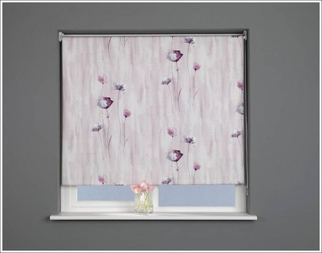 Patterned Blindsgive Your Windows A Touch Of Exclusivity With Regard To Pattern Blinds (Image 9 of 15)
